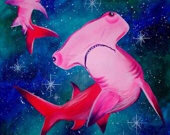 Pink Hammerheads