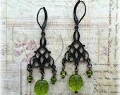 Irish Jewelry, St Patrick's Day Earrings, Irish Earrings, Clover Earrings, Green Earrings, Celtic Earrings, Shamrock Earrings, Shamrocks