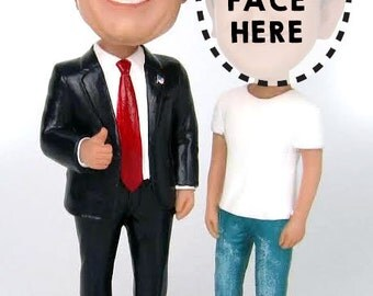 Me and Trump Custom 2016 Campaign Bobble Head