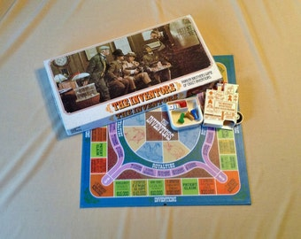 The Inventors Board Game - 1974 Parker Brothers - Complete