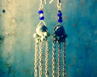 Earrings dangling Sun