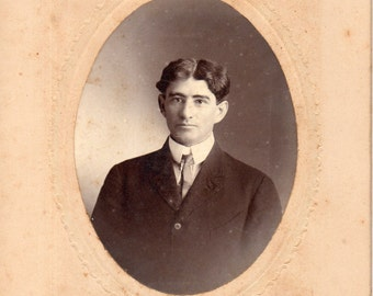 Antique Photo of Handsome Man ID'd