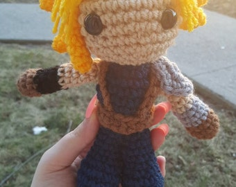 Made-To-Order Inspired by Squarenix's Final Fantasy 7 Cloud Strife amigurumi