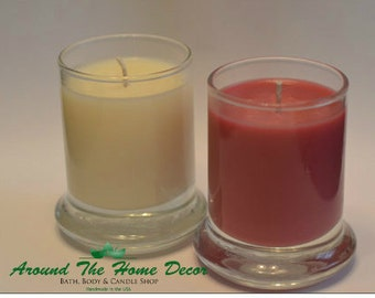 Glass Container Soy Votive. 100% All Natural Vegan Soy. Pick your Scent. 80+ Fragrances. Cruelty-Free