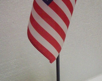 American Flag and US Navy Coin Desk Display 1