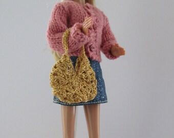 """Handbag / Purse for fashion doll or 11.5"""" doll"""