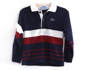 Vintage 80s Izod Lacoste polo shirt kids toddler 3t 4t