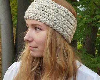 Knit Headwarmer - Oatmeal