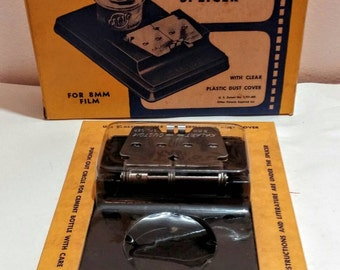 8mm film splicer in original box Kalart