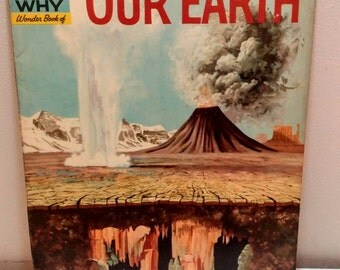 1960 How and Why Wonder Book Our Earth