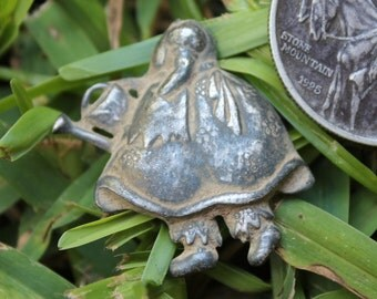 Dug Pewter Flower Girl - Recovered from a Civil War Union / Maine Camp in Stafford County, VA. Beautiful, Authentic, Antebellum Era Piece!