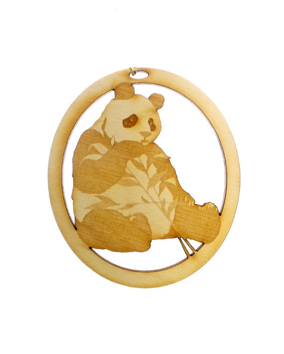 Panda bear ornament panda bear ornaments panda bear decor for Panda bear decor