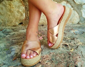 Leather Sandals /F.Flops