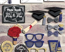 2016 Graduation Photo Booth Props, Instant Download Graduation Props, Class of 2016 Printable Photo Booth Props