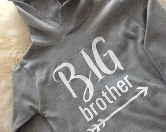 Big Brother Hooded Long Sleeve T-Shirt