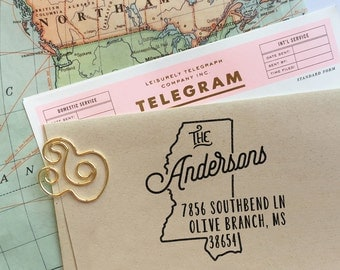 Return address stamps and personalized wedding by mysplendidsummer - Return gifts for housewarming party ...