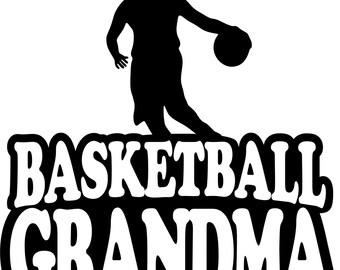 Basketball Grandma T Shirt/ Basketball Grandma Shirt/ Basketball Grandma Clothing/ Girl Player Basketball Grandma Short Sleeve T Shirt