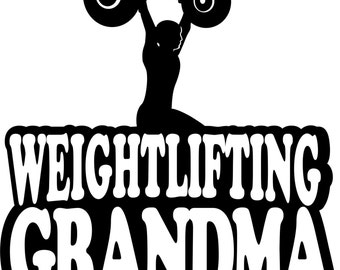 Weightlifting Grandma Hoodie/ Weightlifting Grandma Sweatshirt/ Weightlifting/ Boy Weightlifter Weightlifting Grandma Hoodie Sweatshirt