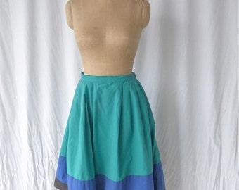Ungaro Color bloque campesino falda
