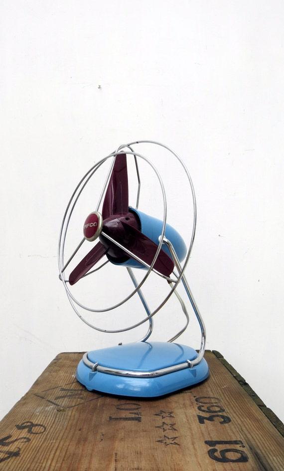 Vintage Pifco Electric Desk Fan Mid Century Retro