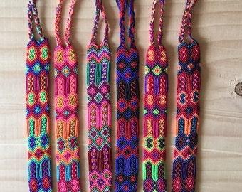 Handmade in Chiapas woven bracelets / bracelets boho hippie folk / Friendship Bracelet