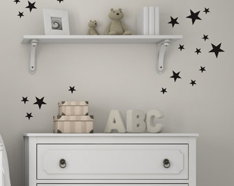 Stars Wall stickers - Wall Decals - Wall Stickers - Stars Decor - Home Decor - Kids Bedrooms - Decals - Star Decals