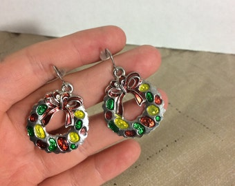 Christmas earrings,