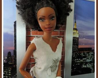 Repainted doll