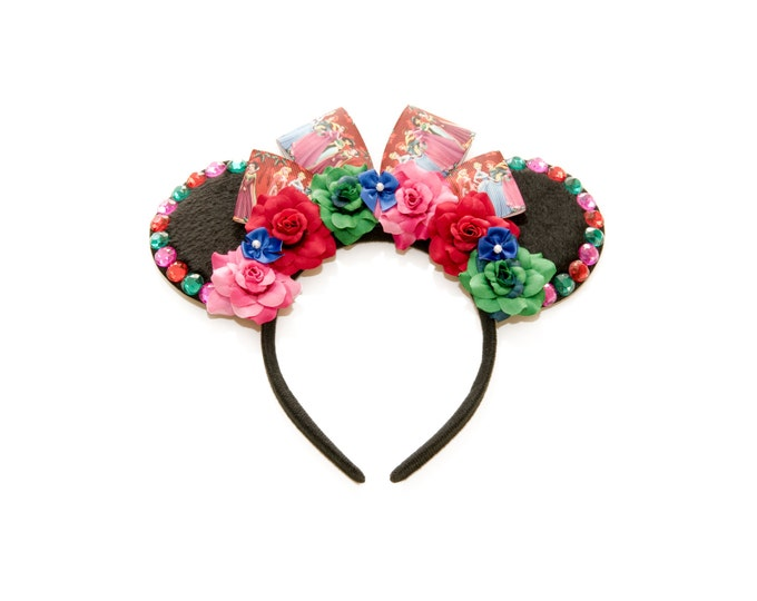 Christmas Princess Mouse Ears Headband