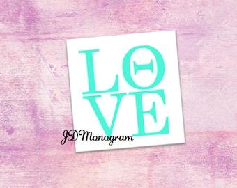 Theta Love Sticker