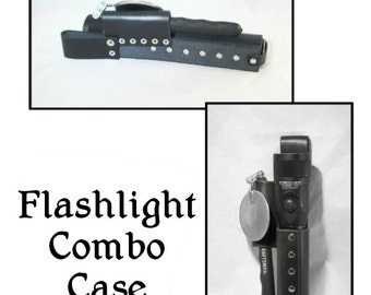 Flashlight Combo Case Pattern - PDF leathercraft pattern - instant download ONLY