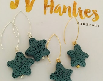 Starfish Drop Earrings - Qty 1