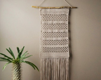 Boho Wall Hanging talisman woven wall hanging amulet weaving boho decor