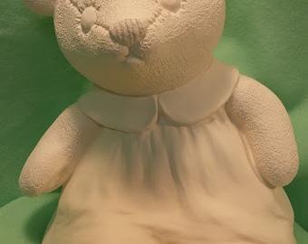 Girl Teddy Bear with Dress