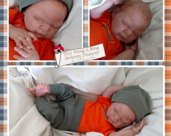 Amazingly Lifelike Reborn Baby Boy - Charlotte sculpt by Denise Pratt