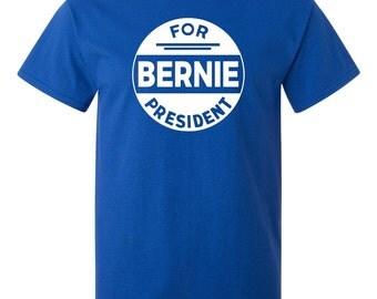 Bernie Sanders T-Shirt - Bernie For President -  Bernie Sanders Shirt Democrat T-Shirt