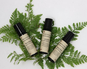 All Natural perfume - Aromatherapy Essential oil perfume - Roll on Fragrance - All natural oil perfume  - Roll on Perfume  - Aromatherapy