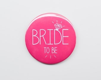 Bride Badge / Bride to Be Badge / Hen Do Badge / Hen Party Badge / Bachelorette Badge