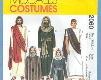 1999 The Passion Play, Jesus, Mary, Apostles, and More  Size Small - McCall's Sewing Pattern 2060