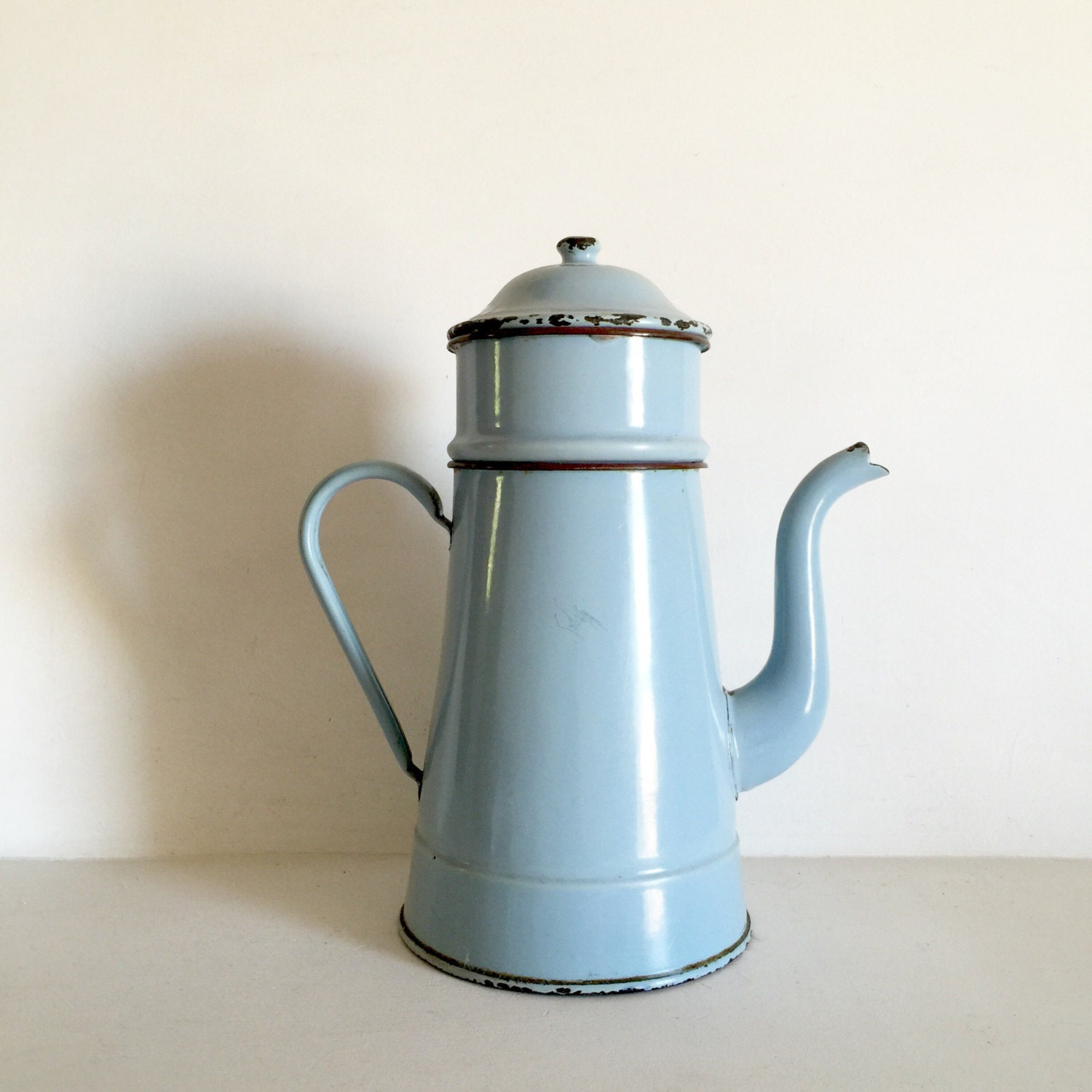 French Vintage Cafetiere Decorative French Coffee Pot