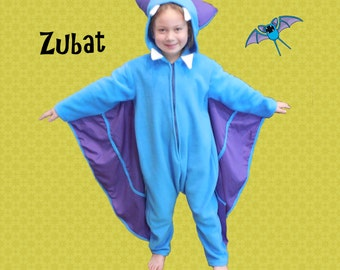 Pokemon Zubat Costume Custom-made Child Sized