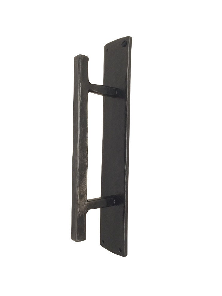 Hand Hammered Door Pull Rustic Decor Door Handle