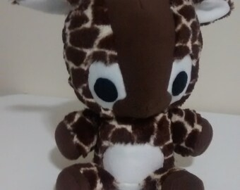 Cuddly Fur Giraffe