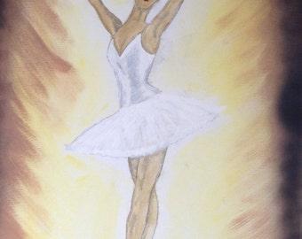 Painting of Ballerina