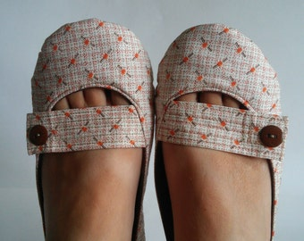 Shoes Handmade - Mary Jane Shoes with Leather or Rubber Sole