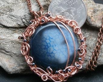 Dragon Vein Stone in Copper