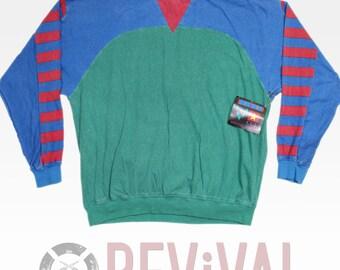 Vintage Custom Club Pullover ~ Size L