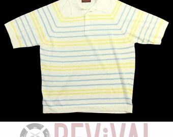 Vintage Coleseta Knit Shirt ~ Size L