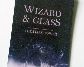 Stephen King's Dark Tower bookmark: Wizard and Glass (Book 4)
