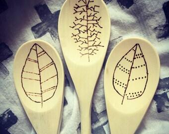 Wooden Spoon, Hostess Gift, Shower Gift, Housewarming Gift, Bridal Shower Gift, Wedding Gift, Kitchen Gift, Birthday, Valentine's Day Gift